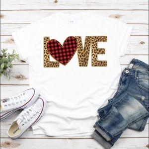 Bella Canvas Love Tshirt